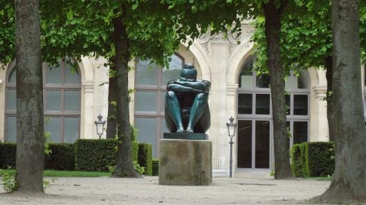 Sculpture near Louvre